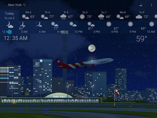 Awesome Weather - YoWindow screenshot 11