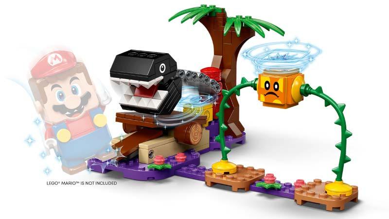 Contenido de Lego® 71381 Set de Expansión: Batalla en la jungla contra el Chomp Cadenas