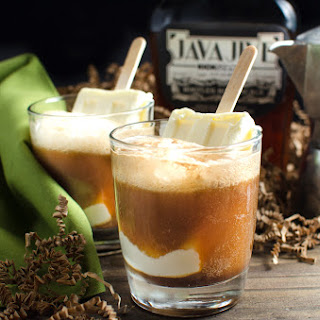Boozy Iced Coffee Float with Homemade Coffee Liqueur Recipe