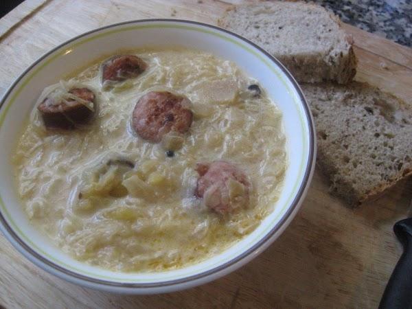 Saurkraut Soup Recipe