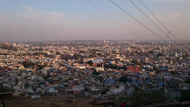 Photo: view over jodhpur, the blue city again