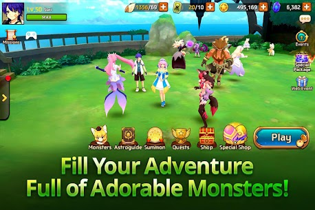 Monster Super League 1.0.18102505 Mod Apk [God Mod/ High Attack] 5