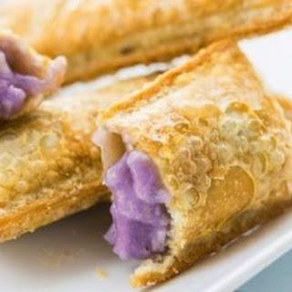 Crispy Taro Pies