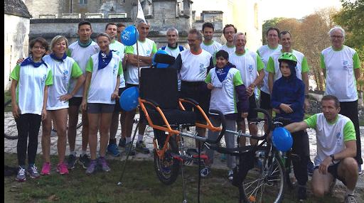 La course des deux châteaux 2018 - Nouvelle équipe de sportifs solidaires pour soutenir les projets des communautés de L'Arche Le Levain et L'Esparance