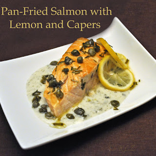 Pan-Fried Salmon with Lemon and Capers