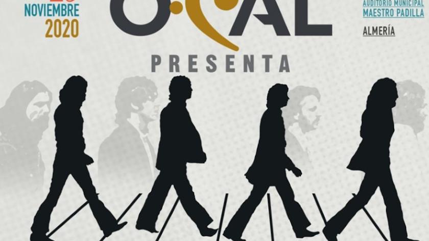 Detalle del cartel del concierto de la OCAL de este domingo.