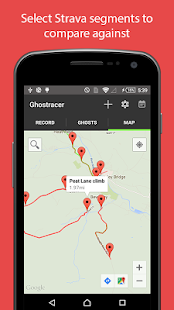 Ghostracer - GPS Run & Cycle- screenshot thumbnail