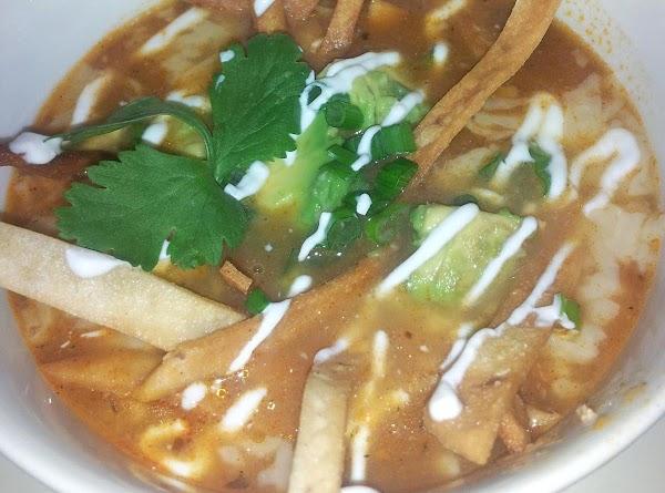 Gram's Chicken Tortilla Soup Recipe