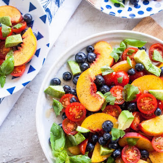 Summer Fruit Dinner Salad.