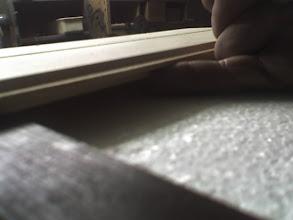 Photo: przestrzeń miedzy styropianem a klepką daje poduszkę powietrzną gniazdo się tak nie przegrzewa