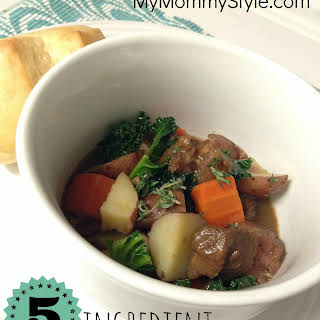 5 Ingredient Beef Stew.
