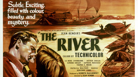 Poster for Jean Renoir's The River
