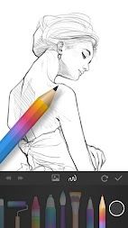 PaperDraw:Paint Draw Sketchbook APK screenshot thumbnail 3