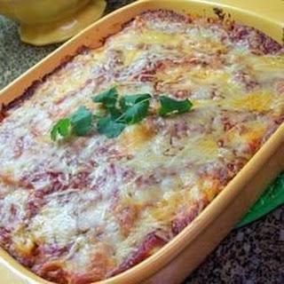 Vegetarian Baked Ziti With Ricotta Cheese Recipes