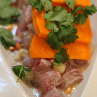 Peruvian Ceviche with Leche de Tiger
