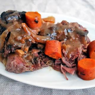 The Best Slow Cooker Beef Pot Roast.