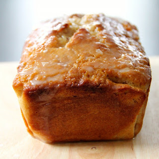 Lemon Cake with Earl Grey Glaze