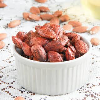 Spiced Almonds.