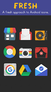 Fresh - Icon Pack- screenshot thumbnail