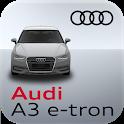 Audi A3 e-tron connect icon