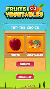 Learn Fruits and Vegetables for PC-Windows 7,8,10 and Mac apk screenshot 1