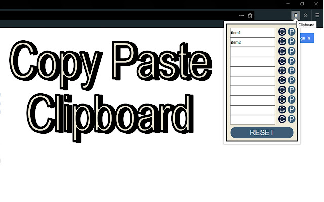 Copy Paste Clipboard
