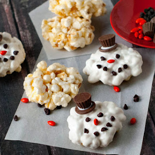 "Melted Frosty Popcorn ""Cookies"""