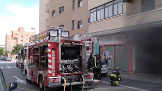 Los bomberos actuaron rápidamente.