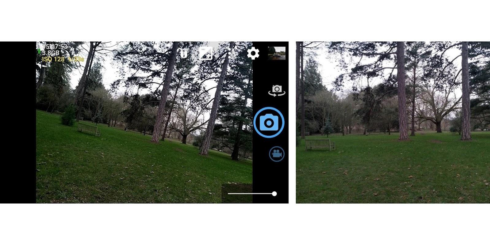 Open Camera screenshots