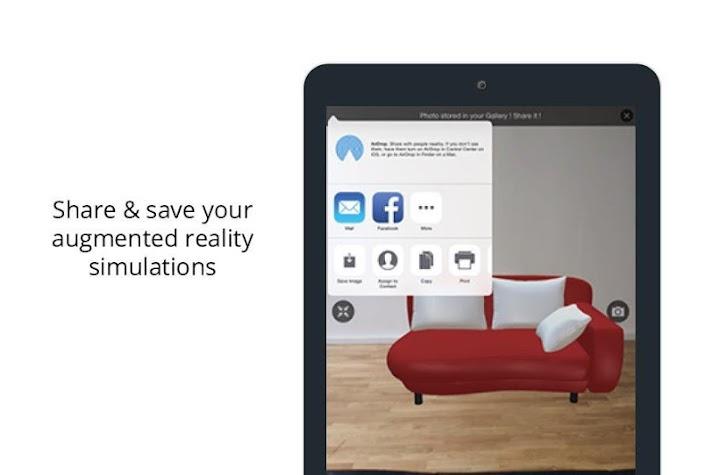 Augment - 3D Augmented Reality Screenshot