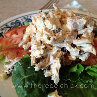 Sweet and Spicy Mediterranean Chicken Salad