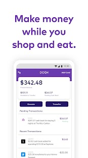 Dosh Get money & earn real cash back when you shop Screenshot