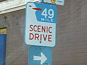 "Photo: The 49-Mile Scenic Drive takes you around the landmarks. The city limits are 7 miles by 7 miles, therefore 49 square miles. ""Drive"" is sort of a misnomer, as we spent more time out of the car than in it. Some areas of the drive like Chinatown and Fisherman's Wharf have their own Album sections."