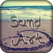 Draw On Sand : Name Art On Sand