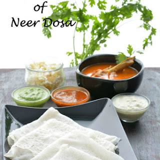 Preparation of Neer Dosa | Mangalorean Neer Dosa