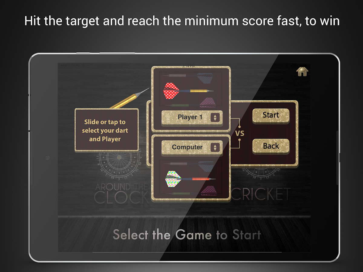 Dart Game- screenshot