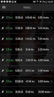 Running Distance Tracker +- screenshot thumbnail