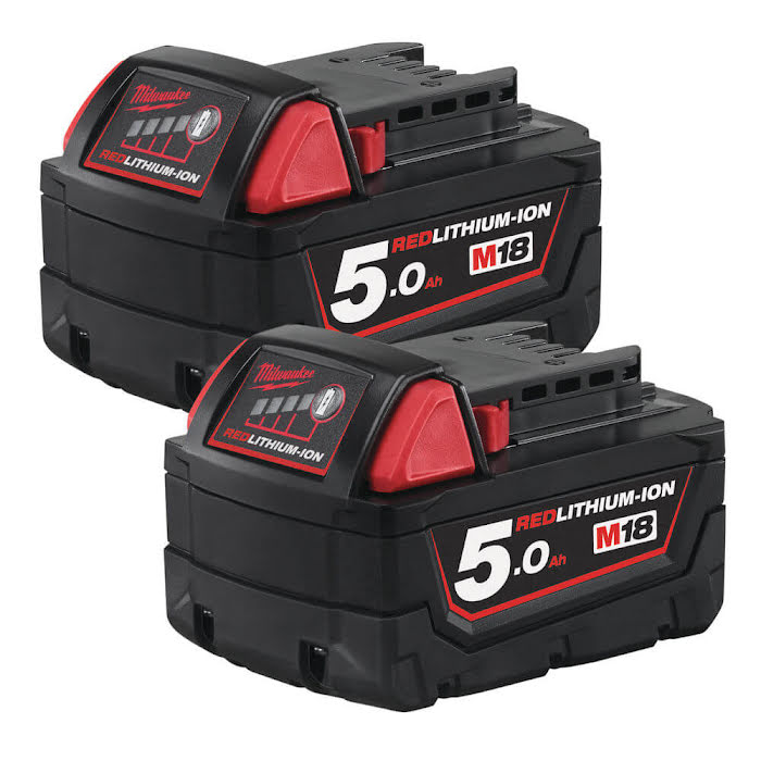 Batterikit M18™ B52, 2 x 5.0Ah
