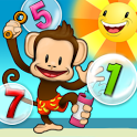 Monkey Math School Sunshine icon