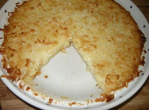 Amazing Coconut Pie Recipe
