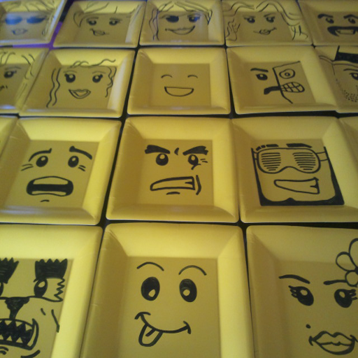 how draw lego