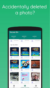 Recover Bin: Trash for Android – Restore Photos 1