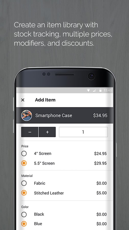 PayAnywhere Credit Card Reader- screenshot