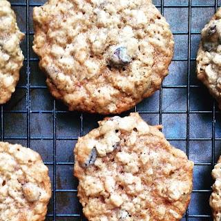 Five Spice Coconut Oatmeal Raisin Cookies.