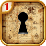 Escape Rooms : Treasure map Icon