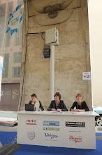 Photo: Stefano Puzzuoli Logge di Banchi Stand delle testate giornalistiche on-line