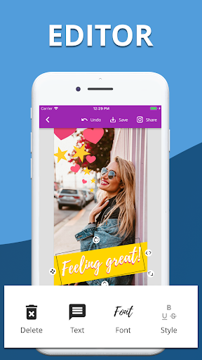 Foto do Story Templates: PostMuse Editor for Instagram 😍