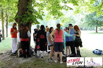 Photo: Journée cosplay organisé par Otaku Lyon le Samedi 30 Juin 2012 au part de la tête d'Or à Lyon. Photo prise par notre photographe principal.