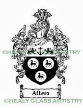 Photo: Allen Coat of Arms Allen Family Crest