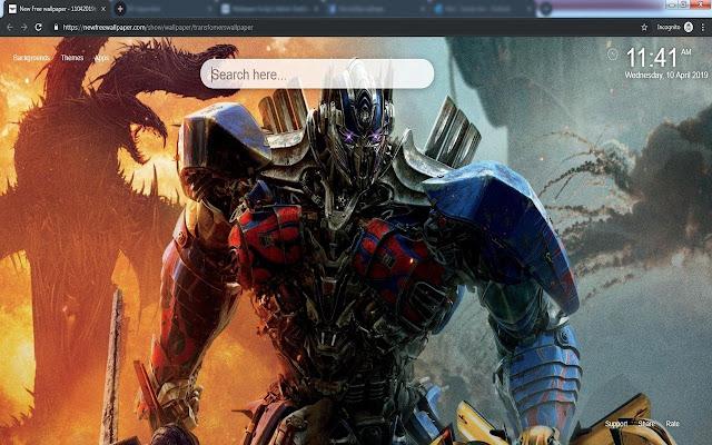 Transformers Wallpapers Tab HD